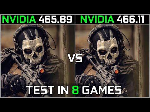 Nvidia Drivers 465.89