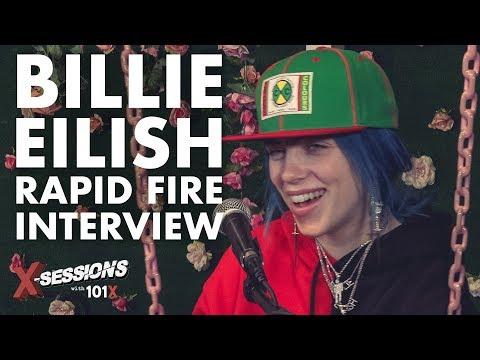 Billie Eilish: Rapid Fire [Interview]   101X