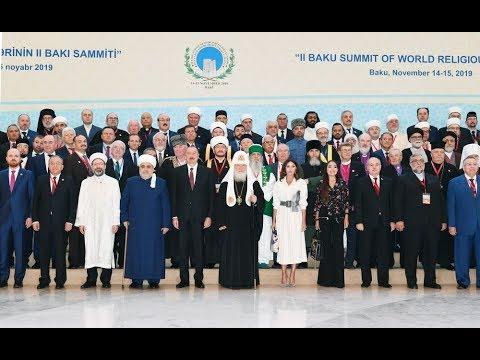 Bakıda Dünya Dini Liderlərinin II Sammiti Keçirilir.