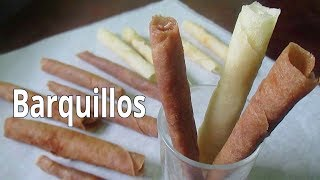 Milo Barquillos | How to make Barquillos | Barquillos Recipe