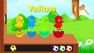 Learn Colors and Animals for Children |  Learn Colors with Surprise Soccer Balls