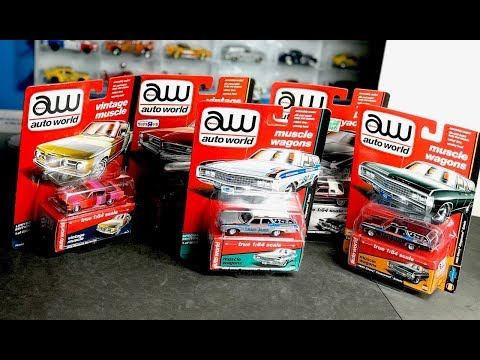 Lamley Showcase: Opening (and Dropping!!) Rare Auto World Ultra Red & Ultra Raw Chase Models