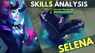 SELENA : NEW MAGE ASSASSIN HERO SKILL AND ABILITY EXPLAINED | Mobile Legends
