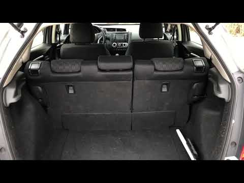 HONDA FIT - LAY SEATS FLAT - HOW TO