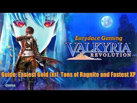 Valkyria Revolution - Easy Gold, Ragnite and XP Guide