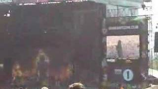 Disturbed - Stricken (clip) live at Download 2008