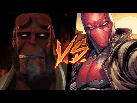 Thumbnail: Injustice 2 - Hype Hellboy VS Red Hood RANK Match