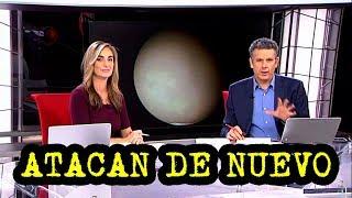 La Tierra Plana y Oliver Ibáñez ATACADOS de nuevo en TV