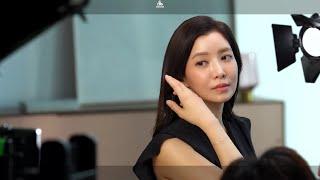 씨드비 물염색, 배우 윤세아 TVCF 메이킹 현장