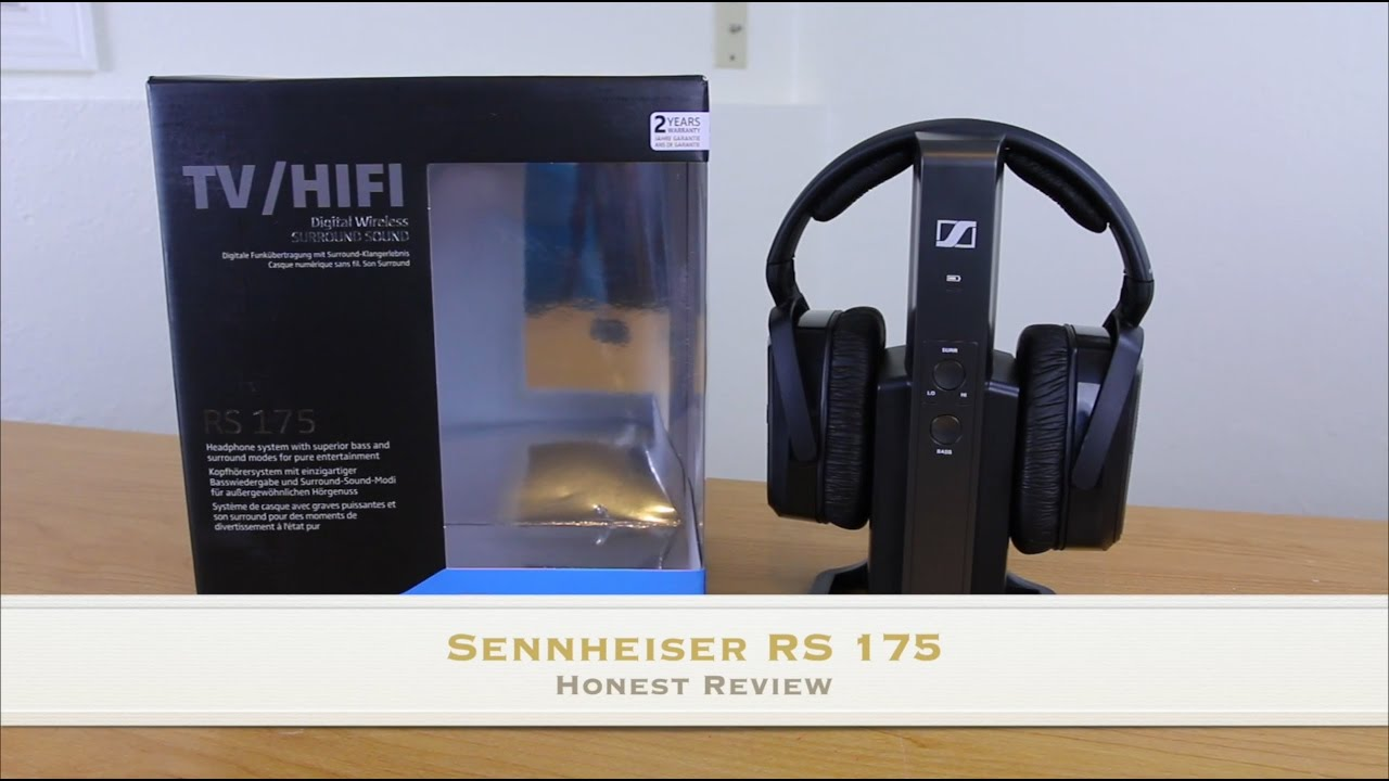 523e7dc46cb Sennheiser RS 175 Headphone Review - YouTube