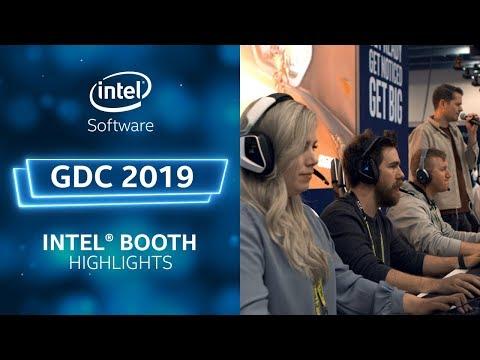 Intel Booth Highlights | GDC 2019  | Intel Software