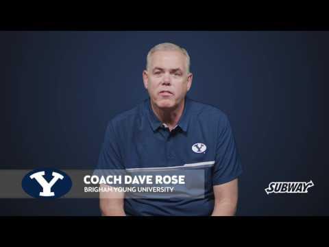 SUBWAY ® Coaches vs. Cancer NABC Utah Campaign