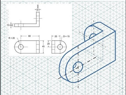 Isometric Drawing Tutorial - YouTube