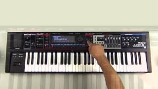 Roland Juno-Gi - How to create Favorites