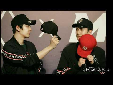 CHANHUN Chanyeol & Sehun  EXO funny cute moment