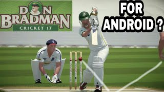 Don bradman cricket download for android,  janiye kiya hai sach