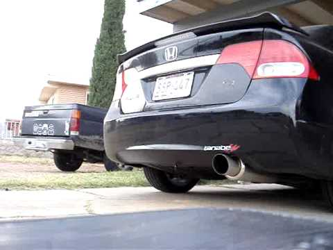 2009 Civic Si Stock Exhaust VS. Tanabe Concep G Exhaust ...