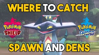 WHERE TO CATCH DREEPY/DRAKLOAK/DRAGAPULT! in Pokemon Sword and Shield - Evolution and Location!