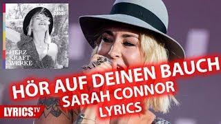 Hör auf deinen Bauch LYRICS | Sarah Connor | Lyric & Songtext | aus dem Album Herz Kraft Werke