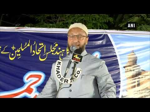 Asaduddin Owaisi offers legal help to victims' families against Mecca Masjid Case verdict