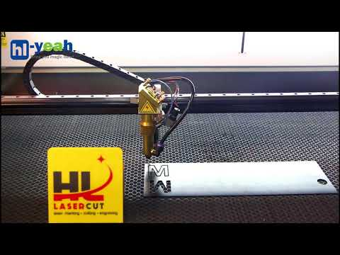 HL 100W CO2 Laser Engraver Cut & Engrave Acrylic & Plywood & Color plate & Alumina & Leather &