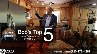 Bob's Top 5 Reasons To Love 19151 Copper Spur in Conifer, CO