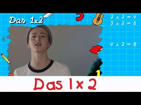 Das 1x2 Lied - Mathe Lernlieder || Kinderlieder