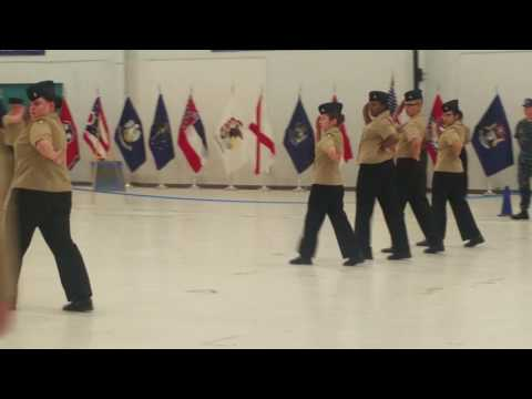 Norview High School njrotc Unarmed Exhibition at Nationals