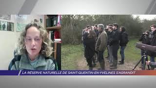 Yvelines | La réserve naturelle de Saint-Quentin-en-Yvelines s'agrandit