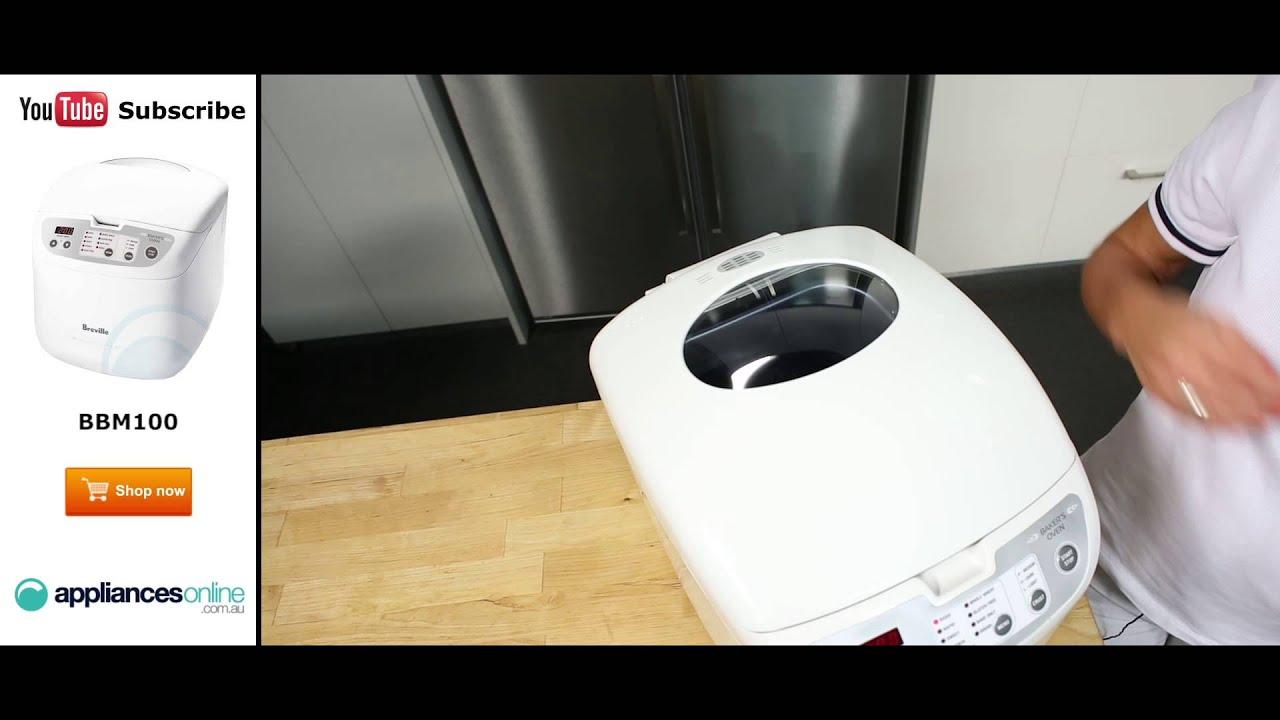 Breville bread machine manual bb420b bbm100 bbm300 bbm400 bbm600.