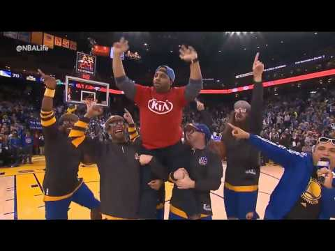 Thumbnail: Warriors fan wins car after hitting four three-pointers in 30 seconds