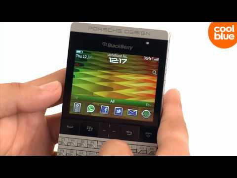 BlackBerry P 9981 Porsche Design review en unboxing (NL/BE)