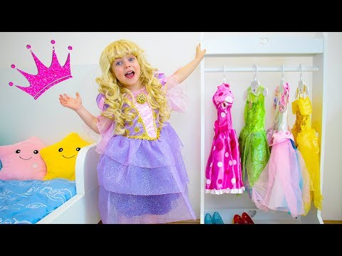 Gaby dress up as Real Princess and goes to a Party