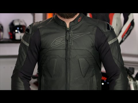 Alpinestars Leather Jacket >> Alpinestars Core Jacket Review at RevZilla.com - YouTube