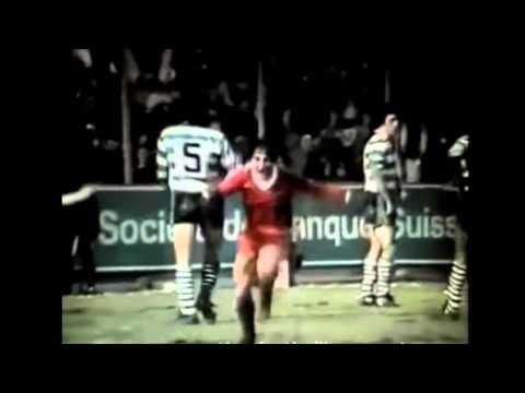 Neuchatel Xamax Sporting Lisbonne   Finale Coupe Uefa