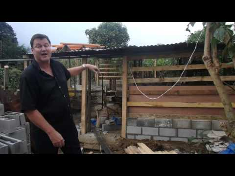 Day 3 Construction of a Free Range Chicken Micro Farm in Guatemala, Charity Project