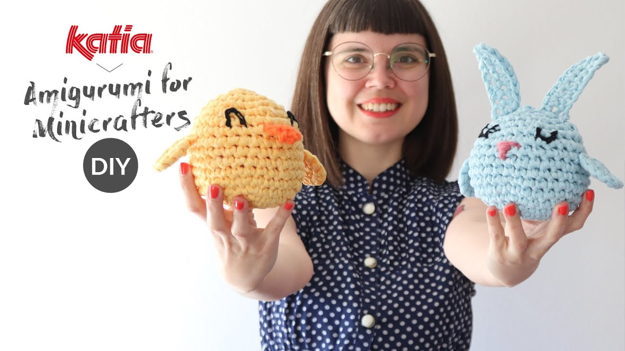 Katia Yarns - 🧡 How to make #crochet monsters #amigurumi ... | 720x1280