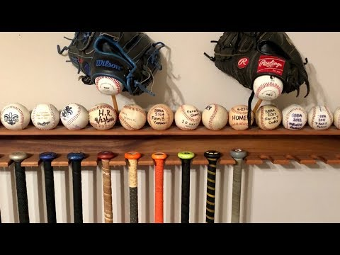 How to Make a Baseball Bat Display Rack (DIY Digital Plans)