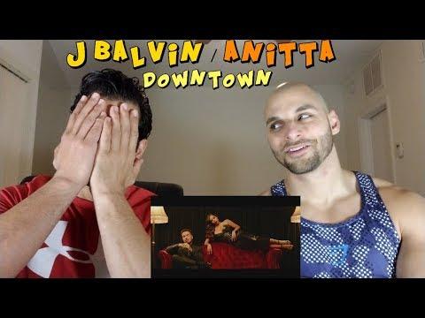 Anitta & J Balvin - Downtown REACTION