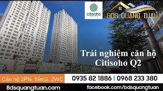 Citisoho, căn hộ 2 PN 2WC 59m2