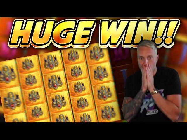 HUGE WIN!!! Legacy Of Ra BIG WIN - Casino Slots from Casinodaddys live stream