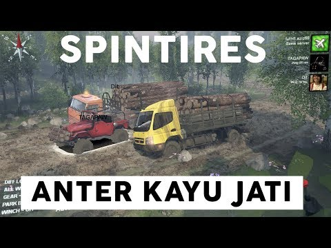 Nganter Pesanan Kayu Jati #SPINTIRES INDONESIA
