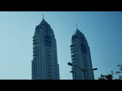 Tallest tower in India-The Imperial twin-tower,Tardeo,Mumbai. Twin tower mumbai.Indian Building