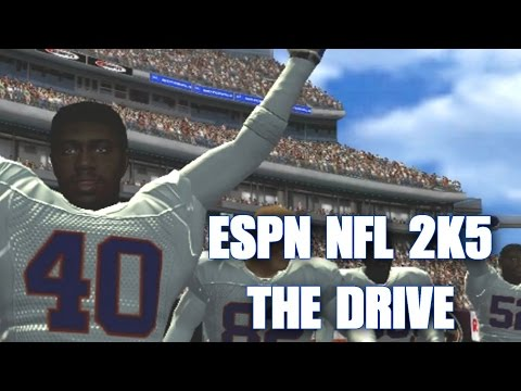 ESPN NFL 2K5 - RECREATING THE DRIVE BRONCOS VS BROWNS