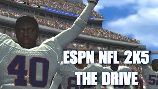 ESPN NFL 2K5 - RECREATING THE DRIVE BRONCOS VS BROWNS