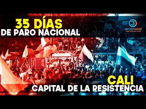 Siguen las protestas en CALI! Reportando en vivo desde el lugar de los hechos