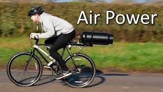 Air Powered Bike Range Test