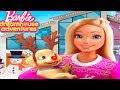 Barbie Dreamhouse Adventures Christmas - Play Fun Xmas Party Dress Up Design, cook, Fun Barbie Games