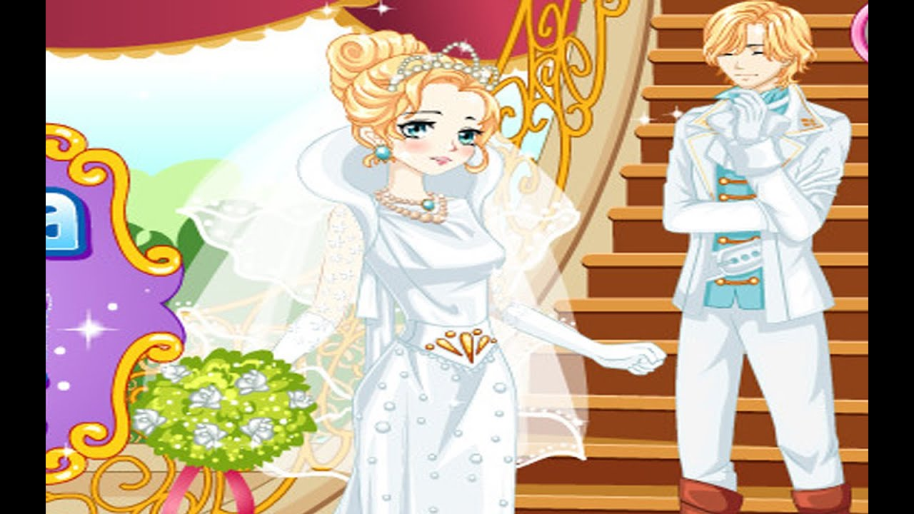 Disney Princess Cinderella Manga Wedding - Games for girls ...