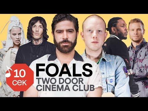 Узнать за 10 секунд | FOALS угадывают Depeche Mode, RHCP и еще 33 трека (+Two Door Cinema Club)